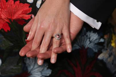 Newly-Engaged Cressida Bonas Reveals Her Distinctive Diamond And Ruby Ring