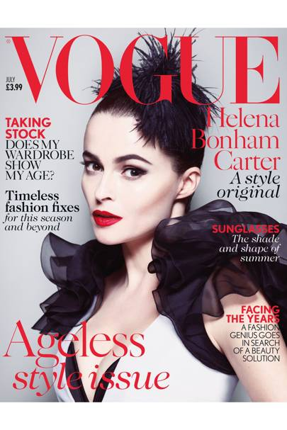 Vogue cover, July 2013