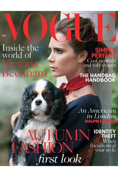 Vogue cover, August 2014