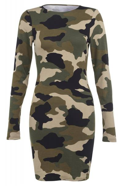Camouflage dress, £40