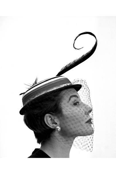 7e0dc4612f055 Suzy Menkes Bettina A Supermodel of the Fifties