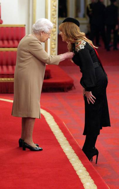 Charlotte Tilbury was awarded an MBE