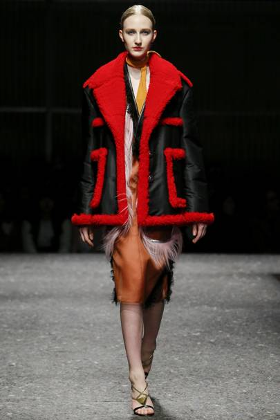 The Scarlet Shearling - AW14