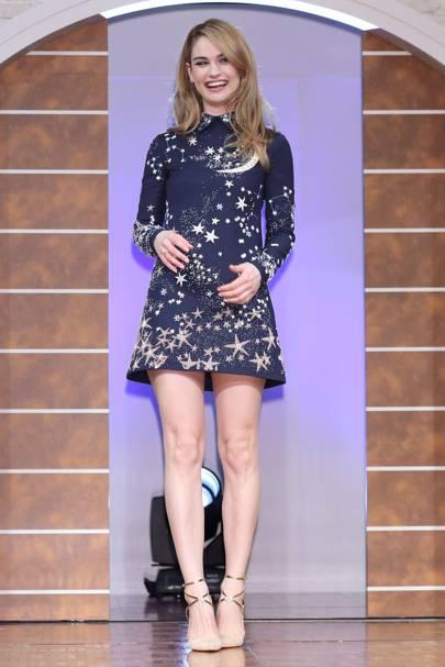 Cinderella press conference, Tokyo - March 7 2015