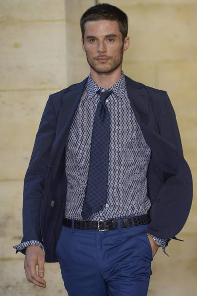 b9180a894da7 Hermès Spring Summer 2014 Menswear show report   British Vogue