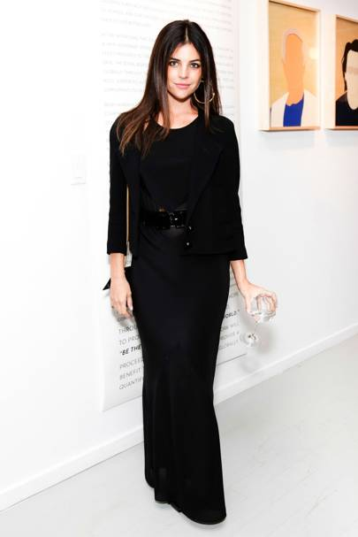 Claire Courtin-Clarins exhibition opening, New York - October 16 2013
