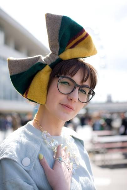 Shannon Murphy, fashion design student
