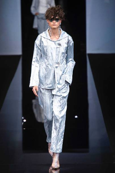 3ce1acf549cf Giorgio Armani Spring Summer 2019 Ready-To-Wear show report   British Vogue