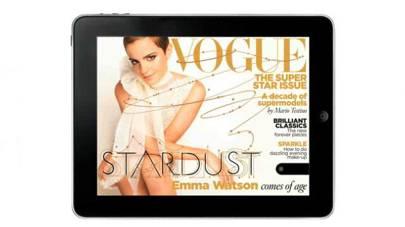 Vogue cover, December 2010