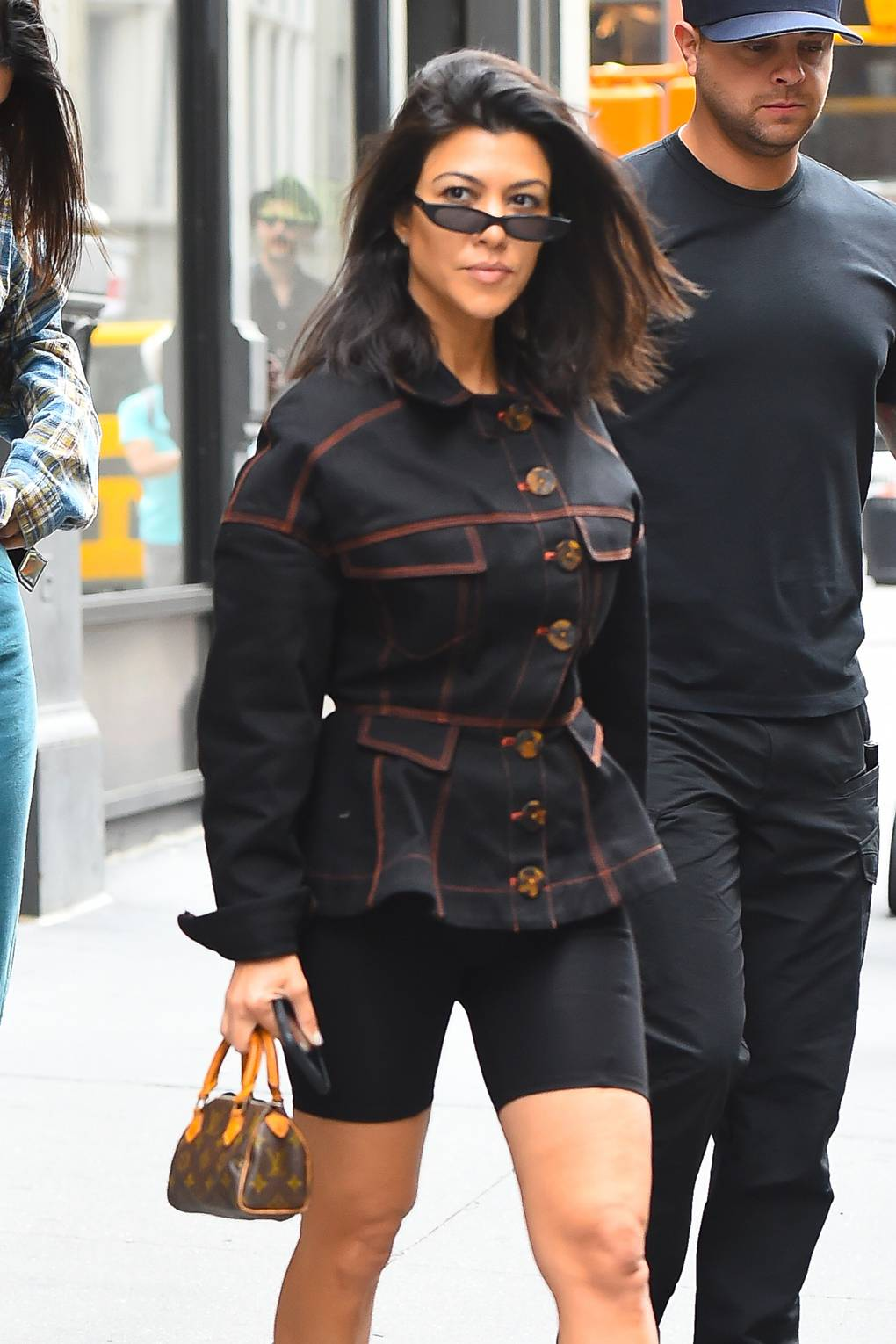 Image result for kardashians wearing cycling shorts 2019
