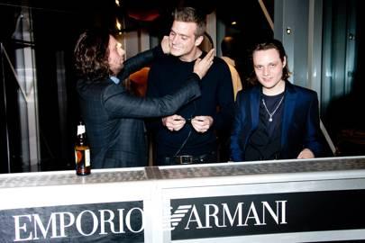 Emporio Armani party - October 10 2013