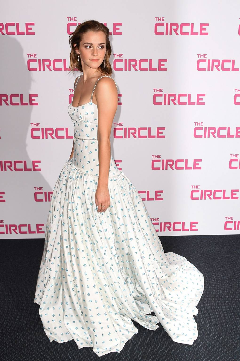 Emma Watson Wears Miu Miu at Paris Premiere of The Circle | British ...