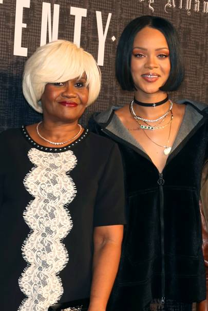 Rihanna and Monica Braithwaite Fenty