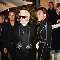 Karl Lagerfeld X Kaia capsule collection launch party, Paris – October 2 2018
