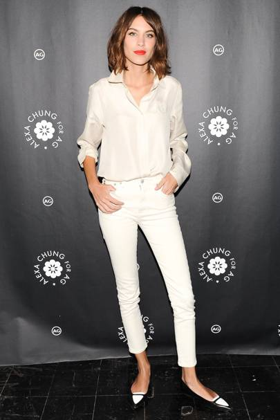 Alexa Chung for AG New York Launch Party, New York – January 20 2015