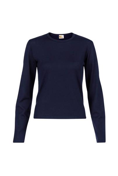 Sunspel Navy Blue Jumper