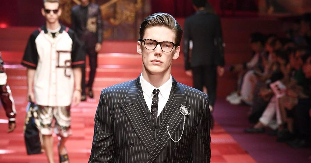 23169e8178 Dolce   Gabbana Spring Summer 2018 Menswear show report