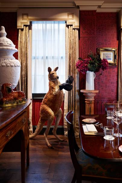 Private dining rooms in london british vogue for Dining room zetter townhouse