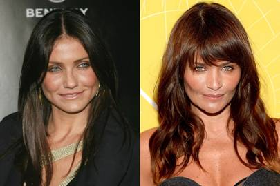 Cameron Diaz and Helena Christensen