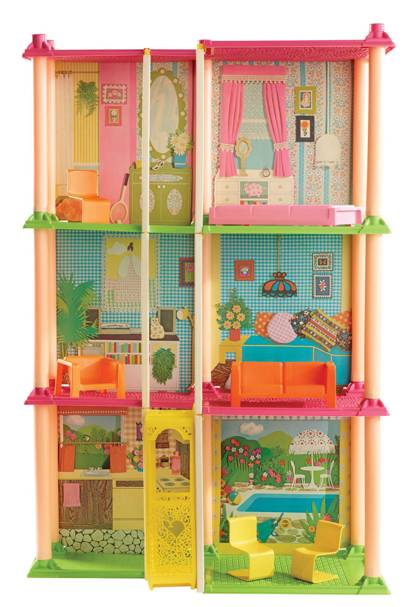 Barbie's 1974 Townhouse