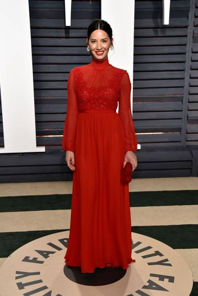 Olivia Munn in Giambattista Valli