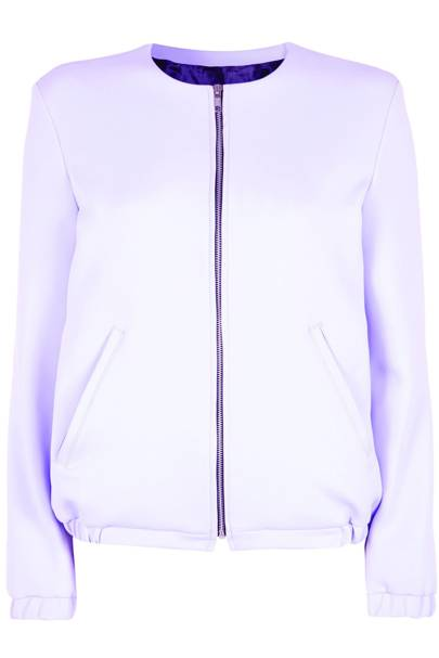 Lilac jacket, £170
