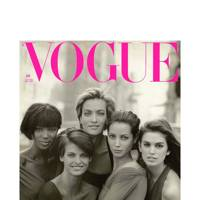 Vogue Cover The Supermodels by Peter Lindbergh, 1990 mini print