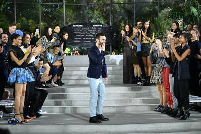 It signified chapter six in Louis Vuitton's ongoing cruise show series