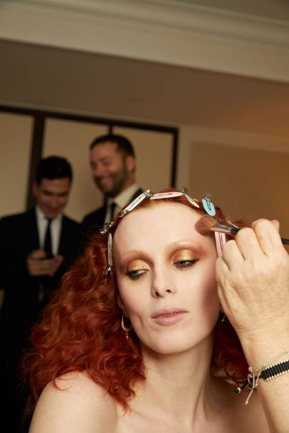 ea5aacf9434 Karen Elson's 2019 Met Gala Outfit Is Inspired By Andy Warhol's ...