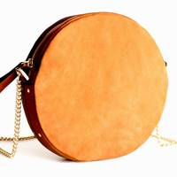 & Other Stories: small leather circle bag