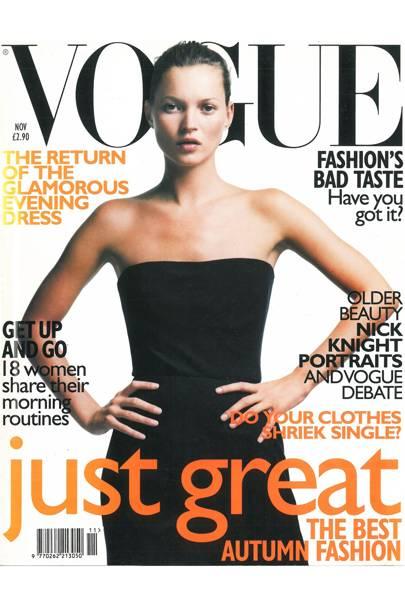 Vogue cover, November 1998