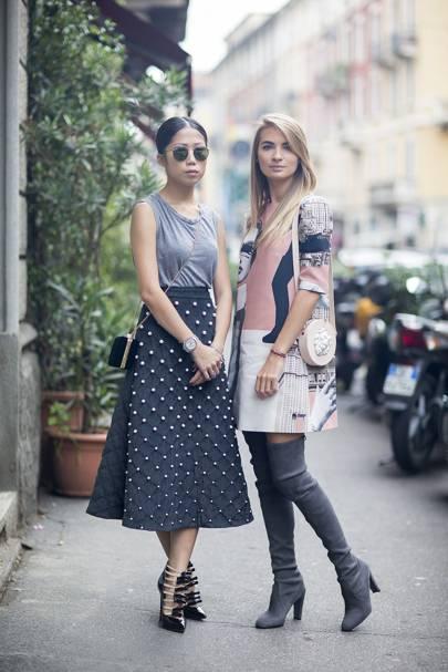 Oksana On, editor, and Maria Kolosova, fashion editor
