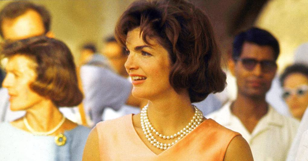 A Masterclass In Colour Blocking From Jackie Kennedy