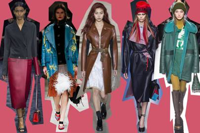 Trend: Coloured Leather