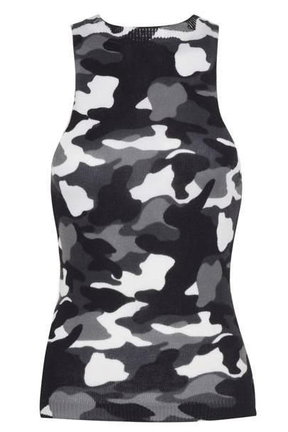 Camouflage vest, £35