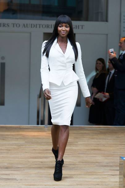 Naomi Campbell on modelling show The Face