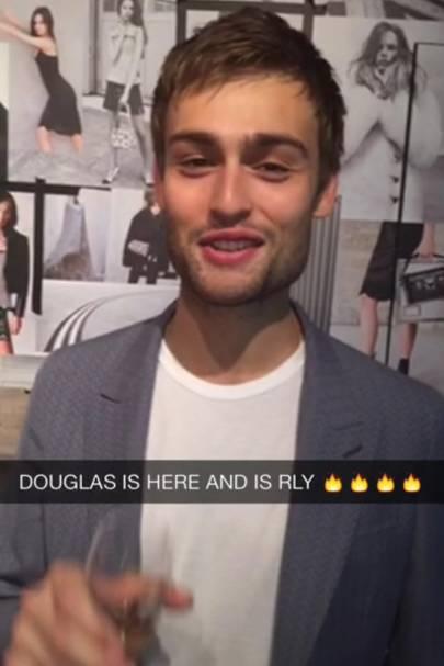 3. Late night Snapchatting