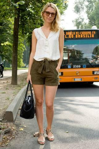 Real Ferragamo Belt >> Milan Fashion Week Street Style | British Vogue