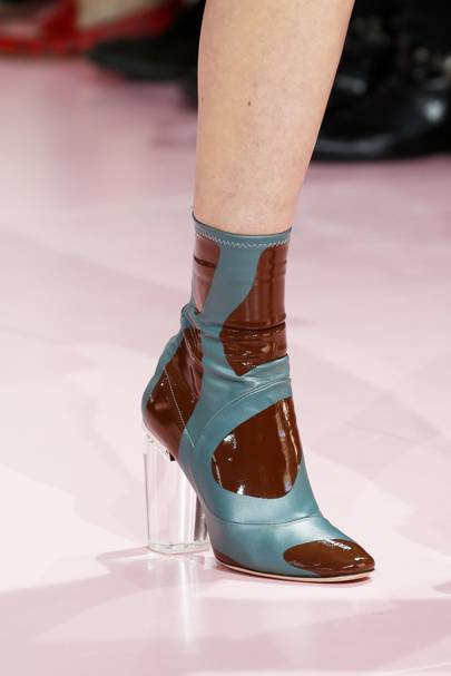 Christian Dior's Ankle-grabbing Boots