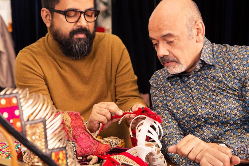 Christian Louboutin And Sabyasachi Working Together