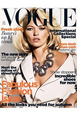 British Vogue, September 2009