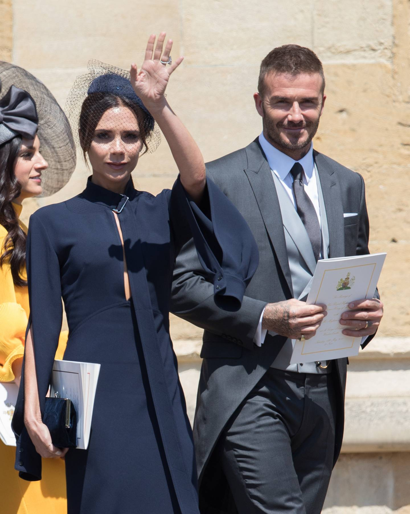 The Dress Victoria Beckham Wore To Royal Wedding Is Now Online British Vogue