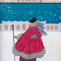 Vogue Cover, Early December 1916