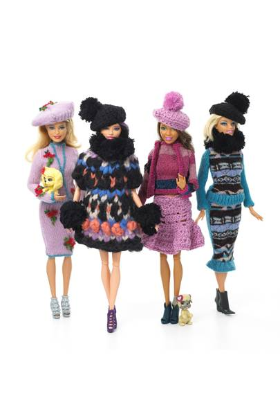 Barbie dressed by Sister by Sibling