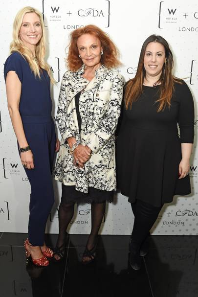 W Hotels inaugural What She Said talk, London - April 20 2016