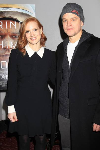 The Martian screening, New York - January 4 2016