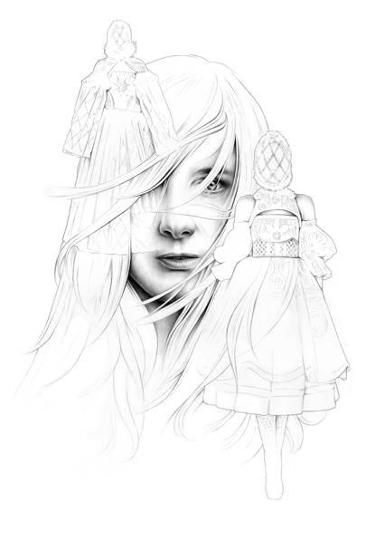 Sarah Burton by Ricardo Fumanal, 2013