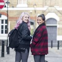 Daisy Deane, fashion editor, and Carlotta Constant, deputy fashion editor