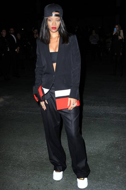 Givenchy show - March 2 2014