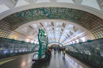 The Instagram Shot: Moscow's Metro Stations